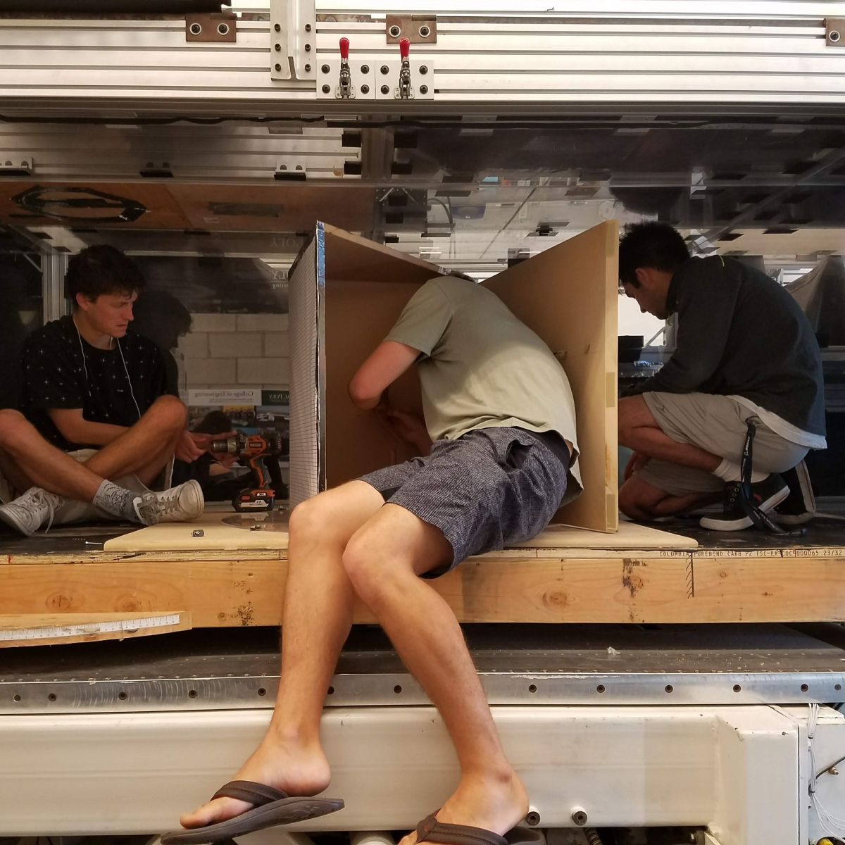 RESEARCH// Prototype testing with Cal Poly Aerospace Engineering